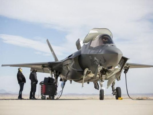 Самолет F-35B