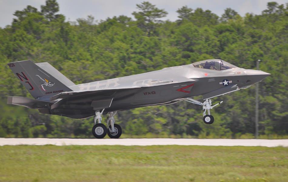 F-35C Lightning II.