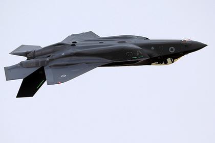 Израильский истребитель F-35I Adir.