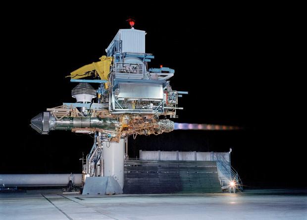 Испытания двигателя F135-PW-600.