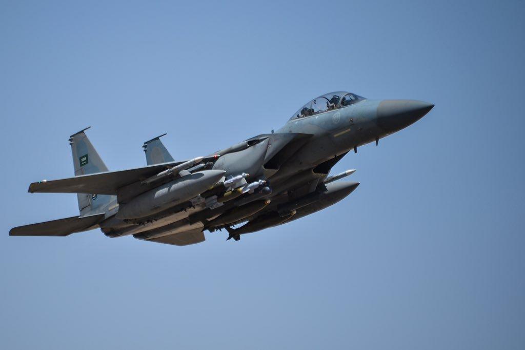 F-15SA ВВС Саудовской Аравии.