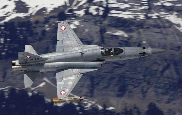 F-5E ВВС Швейцарии