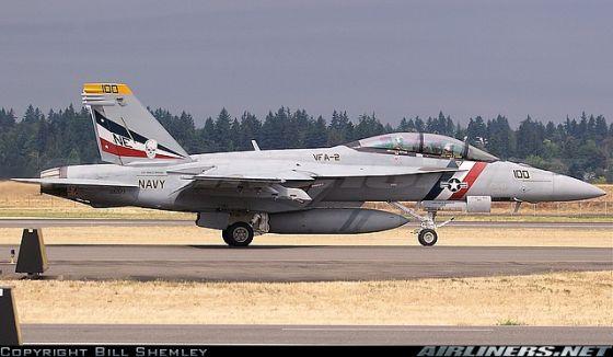 Истребитель F/A-18E/F