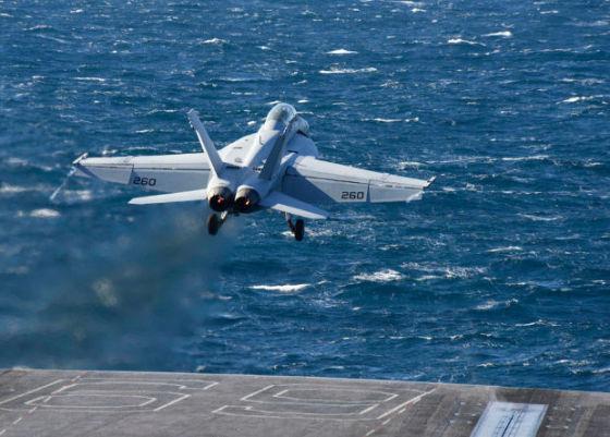 Истребитель F/A-18F