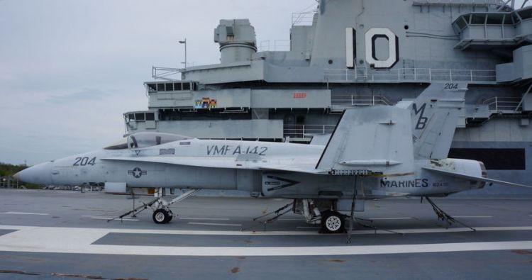 Музейный экспонат, ставший «донором» для самолёта Корпуса морской пехоты.