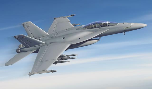 Палубный истребитель F/A-18E/F Super Hornet Block III.