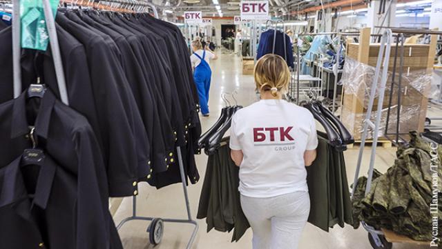 Фабрики БТК обшивают всю российскую армию
