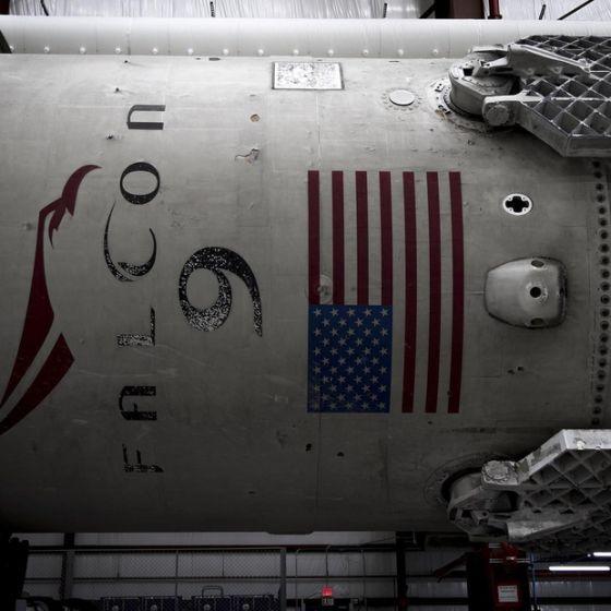 Первая ступень Falcon 9