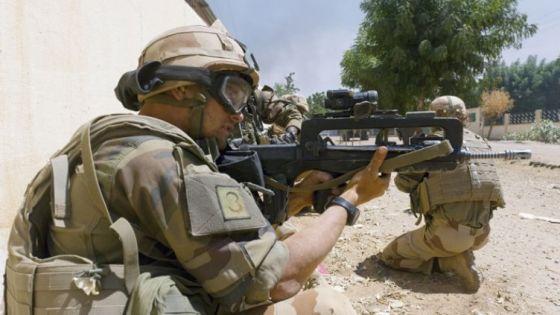 Военнослужащий ВС Франции
