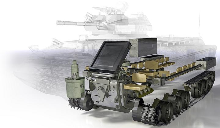 Проект БМП FANG команды Ground Systems (изображение: darpa.mil).