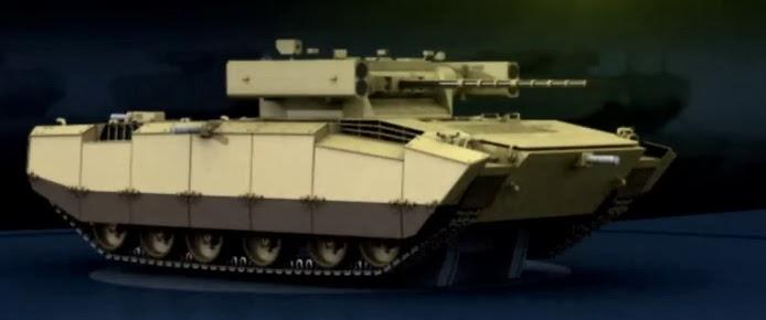 Изображение боевой машины пехоты Харьковского КБТМ, представленное на выставке Defexpo-2014.