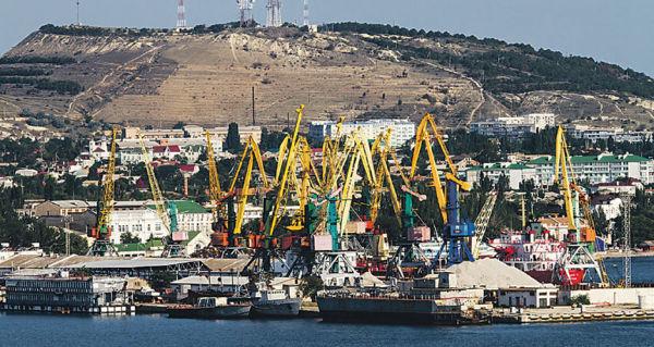 Феодосийский морской порт