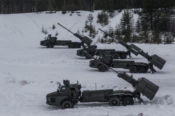 Гаубицы BAE Systems Bofors Archer