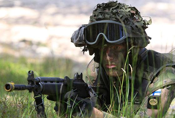 Финский солдат