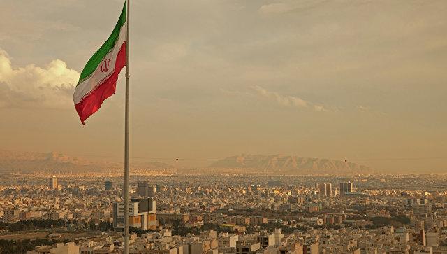 Флаг Ирана. Архивное фото.