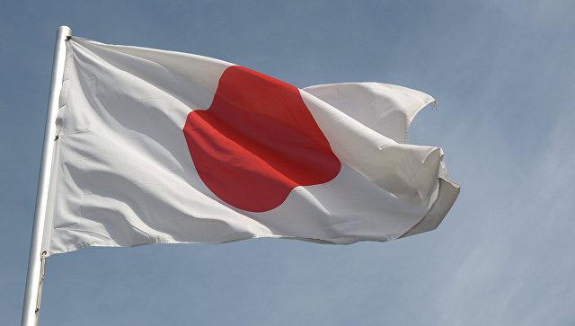 Флаг Японии.