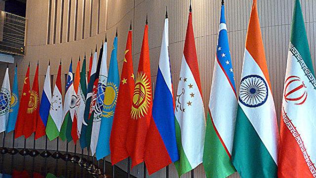 Флаги стран ШОС