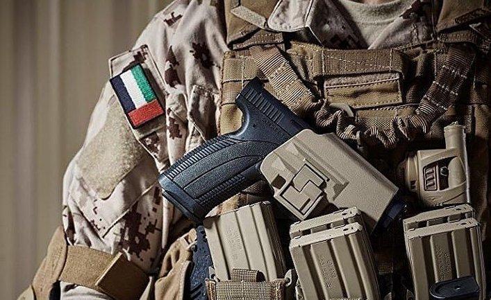 Форма солдат ОАЭ.