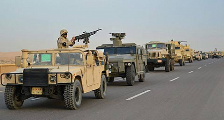 Фото Egyptian Defense Ministery / Handout/Anadolu Agency/Getty Images