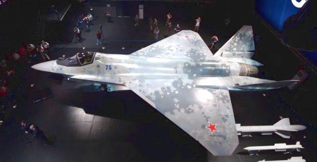Фото нового российского истребителя Checkmate