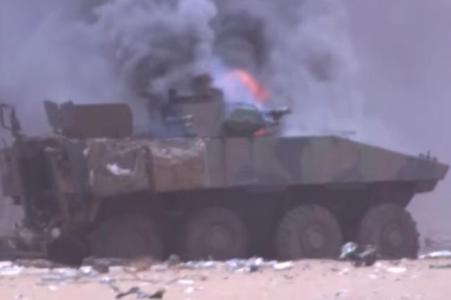 Французская БМП VBCI уничтоженная в Мали.