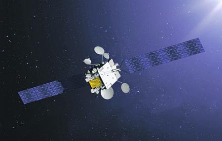 Французский военный спутник Comsat NG. Иллюстрация с сайта www.thalesgroup.com