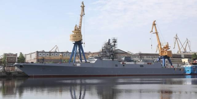"Фрегат ""Адмирал Головко"" проекта 22350"
