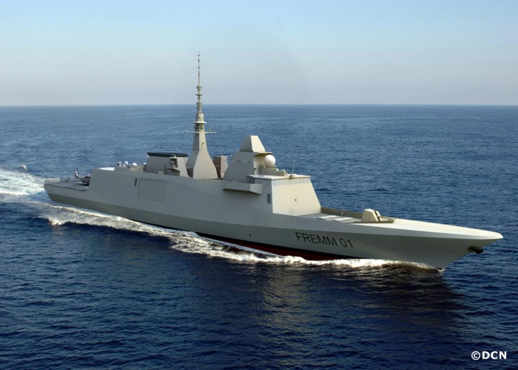 Французский фрегат УРО типа FREMM. Источник: army-news.ru.