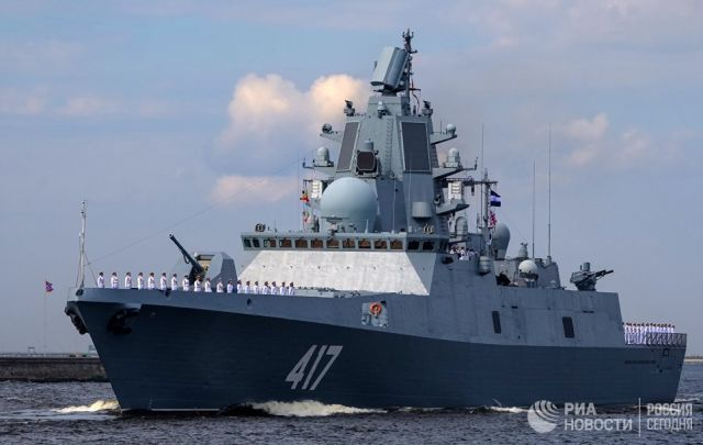 Фрегат Адмирал Горшков. Архивное фото