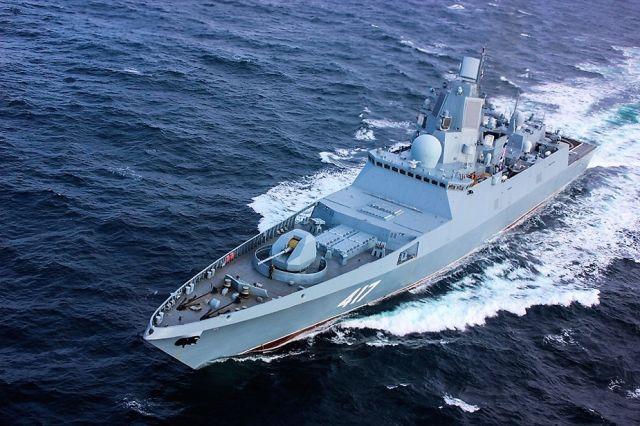"""Фрегат """"Адмирал Горшков"""" пр. 22350"""