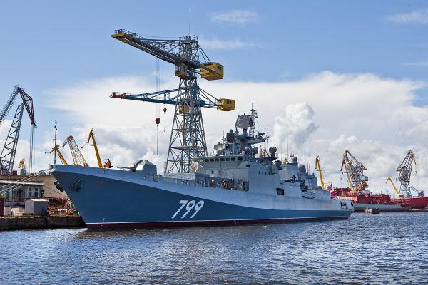 "Фрегат ""Адмирал Макаров"" проекта 11356"