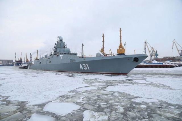 """Фрегат проекта 22350 """"Адмирал флота Касатонов"""""""