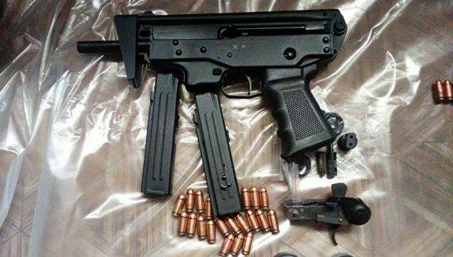 ФСБ РФ пресекла незаконный оборот оружия.