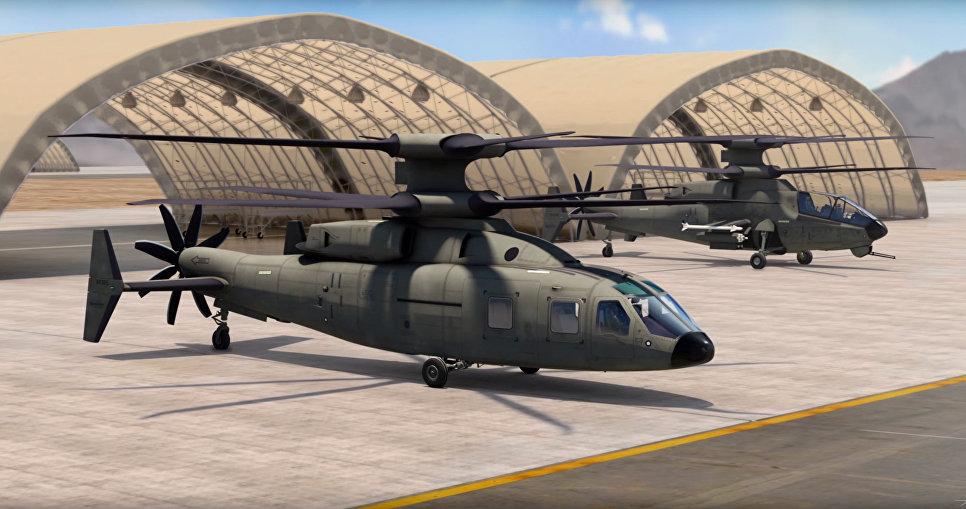 Проект Sikorsky-Boeing FVL-M.