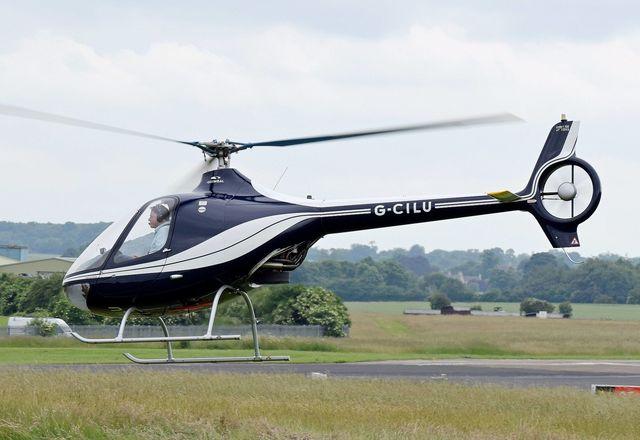 Guimbal Cabri G2 — легкий коммерческий двухместный вертолет, разработанный Бруно Гимбалем, бывшим инженером компании Eurocopter. Впервые поднялся в воздух в 2005 г.