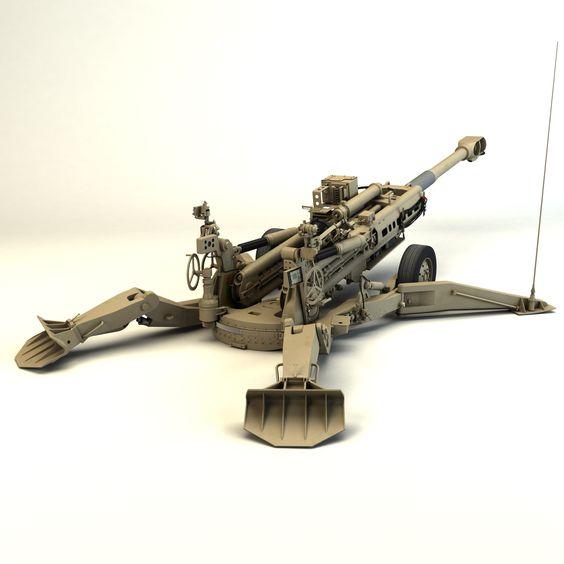 Гаубица M777A2 калибра 155 мм производства компании BAE Systems.
