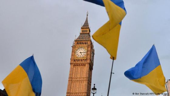 Сотрудничество Великобритании и Украины