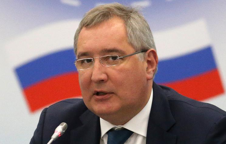 Гендиректор Роскосмоса Дмитрий Рогозин.