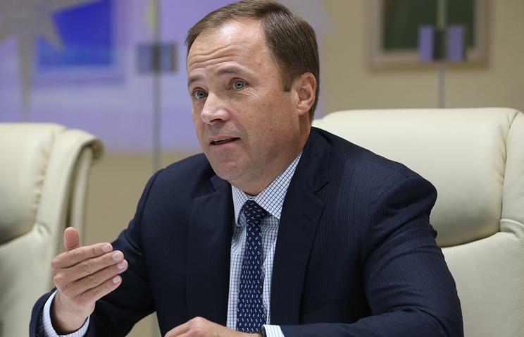 """Генеральный директор госкорпорации """"Роскосмос"""" Игорь Комаров."""