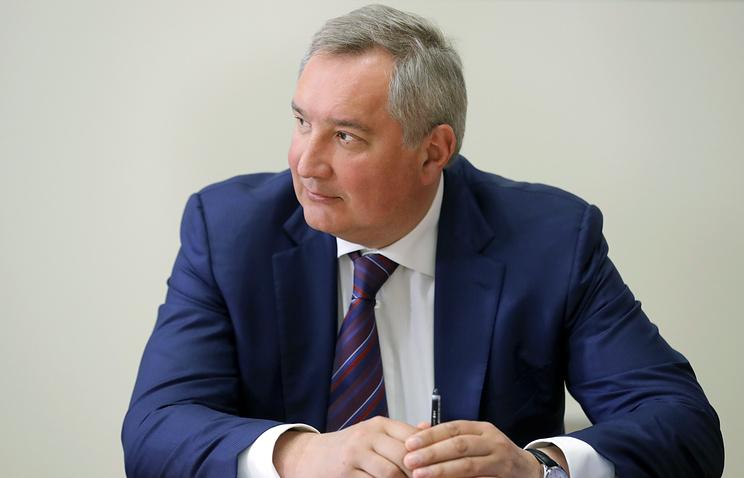 """Генеральный директор госкорпорации """"Роскосмос"""" Дмитрий Рогозин."""
