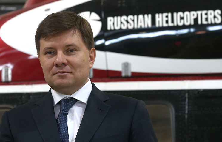 """Генеральный директор холдинга """"Вертолеты России"""" Андрей Богинский."""