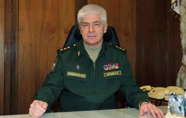 Генерал-полковник Николай Юрьев