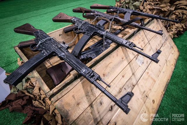 Германские автоматы Sturmgewehr 44