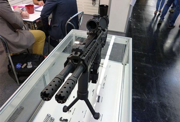 Двуствольная винтовка Gibola Snake