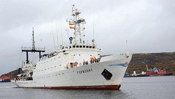 Гидрографическое судно Северного флота. Архивное фото