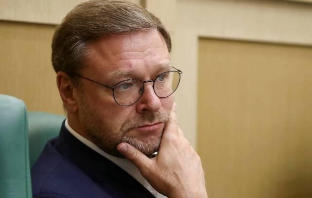 Глава комитета СФ РФ по международным делам Константин Косачев