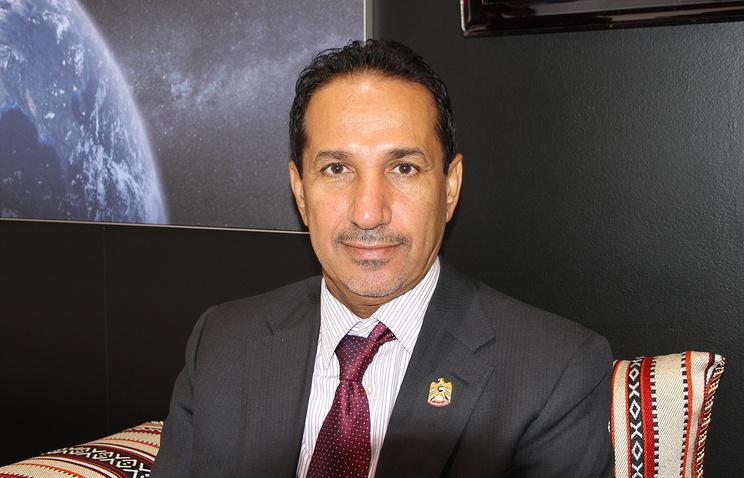 Глава космического агентства Объединенных Арабских Эмиратов Мухаммед аль-Ахбаби.