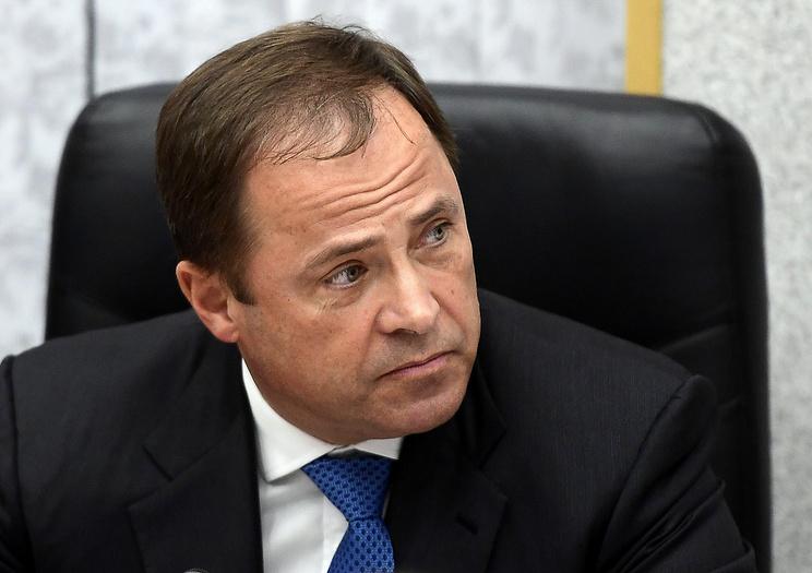 Глава Роскосмоса Игорь Комаров .