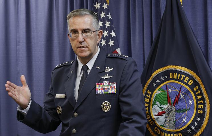 Глава Стратегического командования ВС США генерал Джон Хайтен.