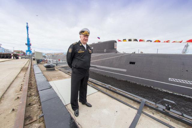 Главком ВМФ адмирал Николай Евменов: Такими кораблями мы можем гордиться.